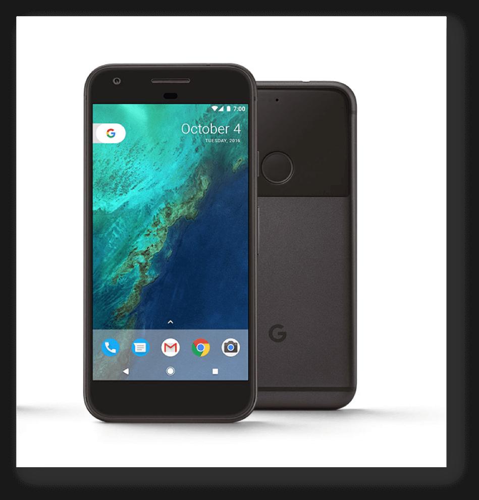 Google's brand new Pixel mobile