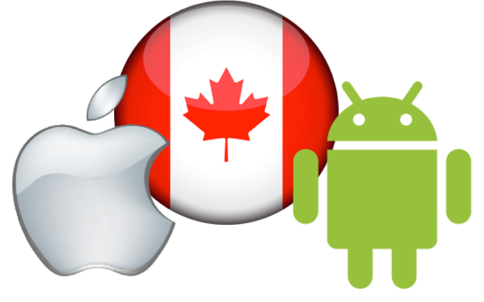 Android vs iOS Market Share in Canada