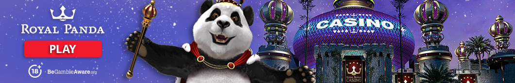 Royal Panda Casino Banner