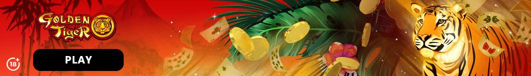 Golden Tiger Casino Banner