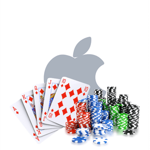 apple cards and casino chips