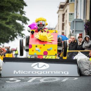 Microgaming's Soapbox Race Returns