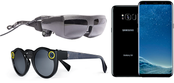 eSight3, Snapchat Spectacles and the Samsung Galaxy S8