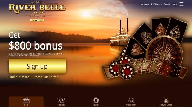 RiverBelle Casino Screenshot