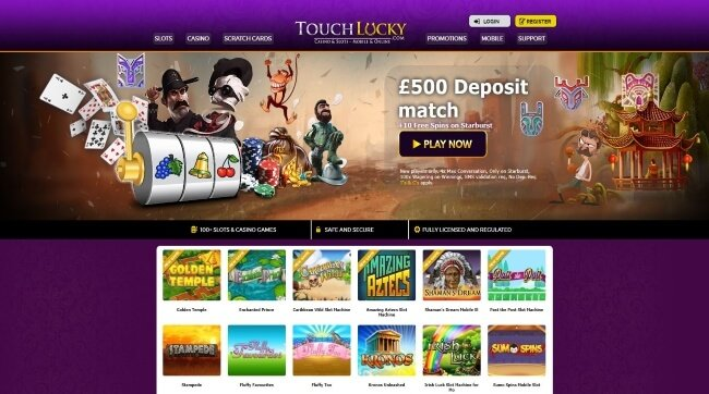 Touch Lucky Casino Screenshot