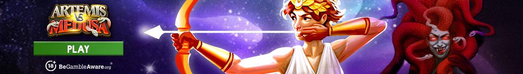 Artemis Vs  Medusa Banner