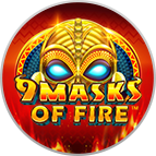 Play 9 Masks of fire at Golden Tiger Mobile Casino