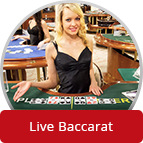 Bet on Live Baccarat
