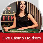 Bet on Live Casino Hold'em