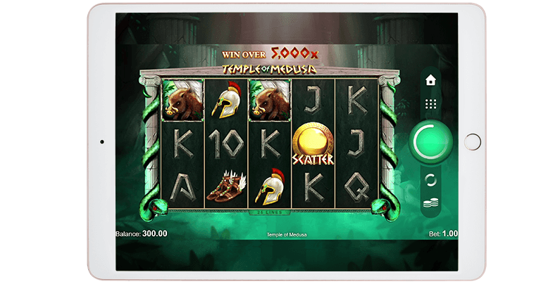 Play at the casino on your iPad