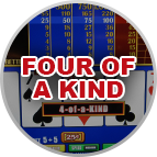 Four of a Kind Video Poker Gameplay