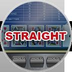 Straight Video Poker Gameplay