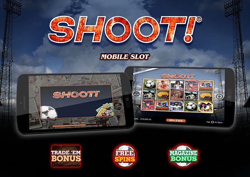 Shoot online slots has gone live from Microgaming