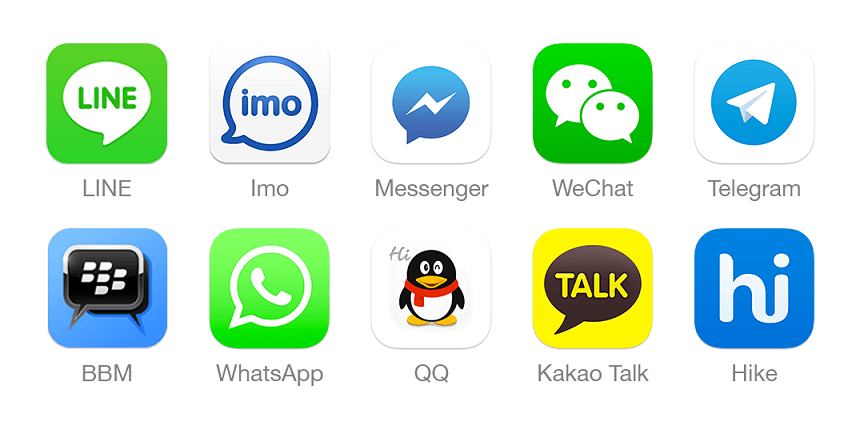 Chat Apps and Mobile Gaming being integrated