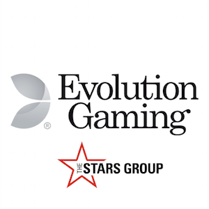 Evolution Gaming and The Stars Group