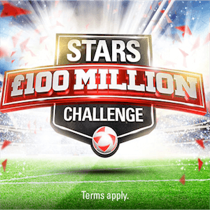 Stars Group Launches £100 Million Challenge