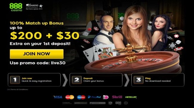 Play at 888 Live Casino