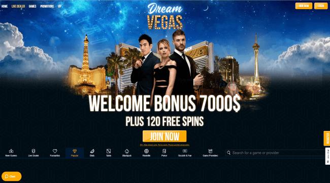 Dream Vegas Mobile Screenshot