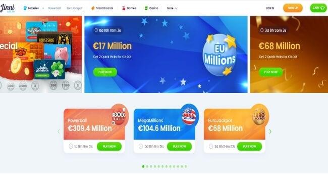 Jinni Casino Screenshot
